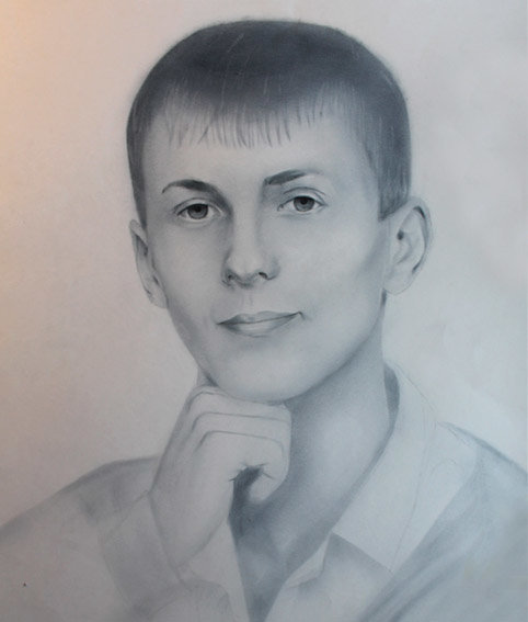 Портрет в рисунке 6 класс